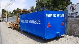 Manufacturas Trujillo cisterna 4,500 gls para tolva de volquete