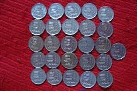 26 Monedas Argentinas Antiguas De 10 Pesos