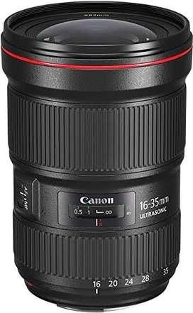 Lente Canon 16-35 f:2.8 USM / Serie III