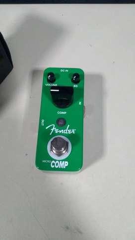 Pedal  de efectos Fender comp nuevo