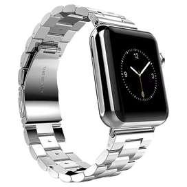 Brazalete de plata para apple watch 42mm/44mm