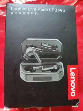 Auriculares Lenovo LP3 PRO 1200mha