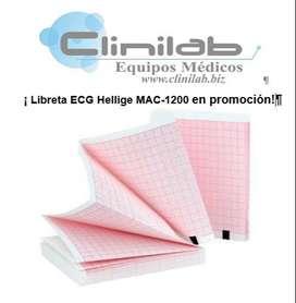 Libreta ECG Hellige MAC-1200