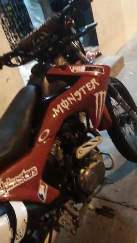 Se vende una moto poco flamantita