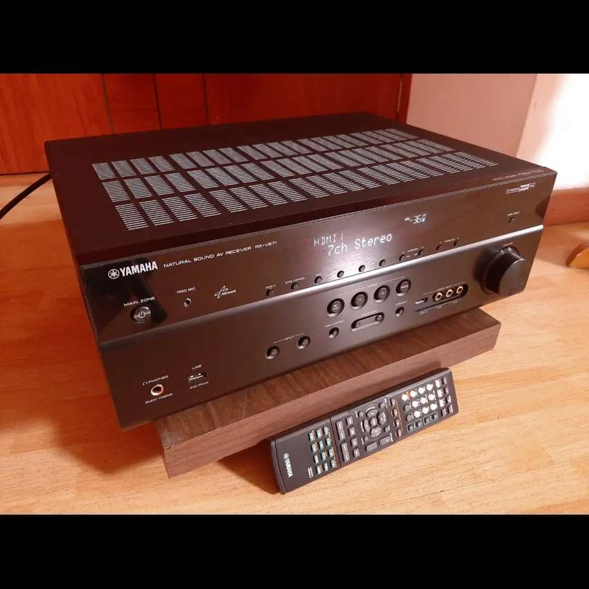 Yamaha 7.1 RX V671 hdmi Internet usb 4k 3d 2 zonas marantz denon technics Onkyo
