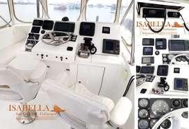 Motor marino caterpillar, modelo 3126, 300 HP 2800, RPM, twin disc. 5061A. Reduccion de 1.5:1. Puerto de registro