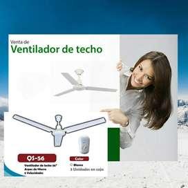 Ventilador Techo Industrial 56 Pulg Aire cod ind 5884