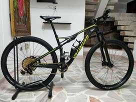 Bicicleta Specialized EPIC FSR Comp Carbon 29 WC SRAM Eagle XX1 2017 Talla M