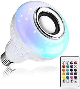 ESPECTACULAR BOMBILLO BLUETHOOTH LED