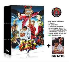 Street Fighter Serie Anime Completa