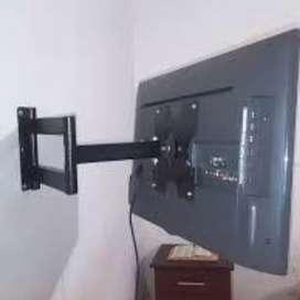 Soportes de brazo y fijos para televisores
