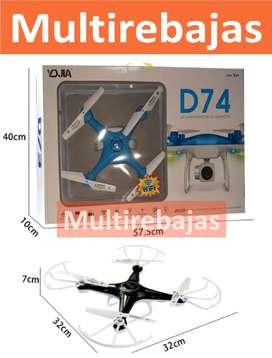 Mini  Drone Con Camara D74 Con Control Remoto
