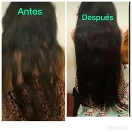 Extensiones de cabello nuevas