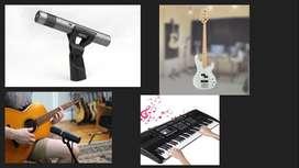 Instructor de Música Canto Piano Guitarra