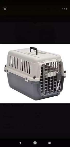 Jaula transportador de perro gato L50