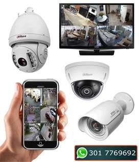 Cámaras de seguridad por Internet en Cali, IP HD desde celular. Cali.