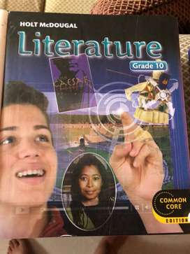 Literature Common Core Grade 9 & 10 (cubierta dura)