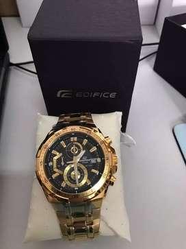 Reloj casio edifice EFR-539fg-1a NUEVO 100% ORIGINAL