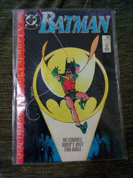 Dc Comic Batman 1980s Inglés
