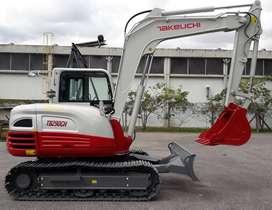 Mini Excavadora marca Takeuchi modelo TB290CH