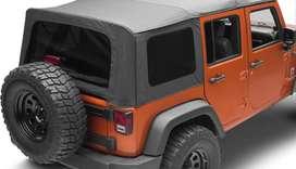 Carpa original para jeep wangler 5 puertas