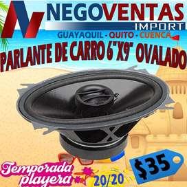 PARLANTES OVALADOS DE 6X9 PULGADAS PARA CARROS