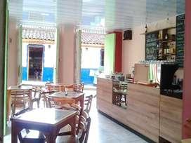 Venta bar cafetería acreditado