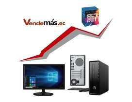 Computador Pc Hp Mini I7 8700 8gb 1tb Wifi Monitor 20 CPU