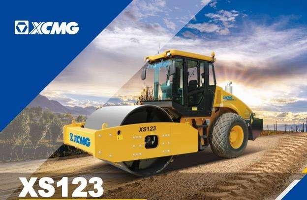 RODILLO VIBRATORIO XCMG XS123 de 12Ton AÑO 2021 OCASION!!! 0