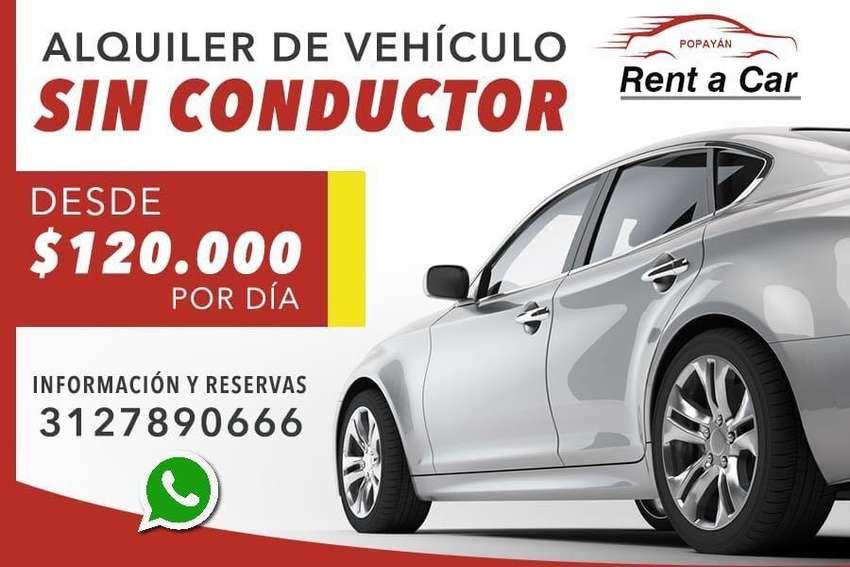 Alquiler De Carros O Vehículos, Sin Conductor En Popayán 0