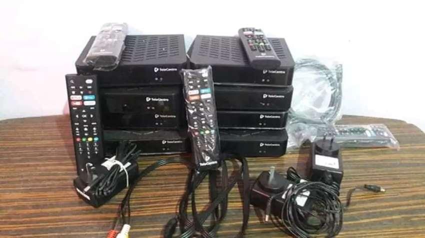 Decodificadores de Telecentro trasforma tu tele vieja o LCD en smart tv lo único que tenés que tener es internet 0