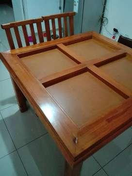 COMBO mesa mas 4 sillas