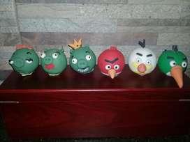 vendo adornos de torta de Angry Birds