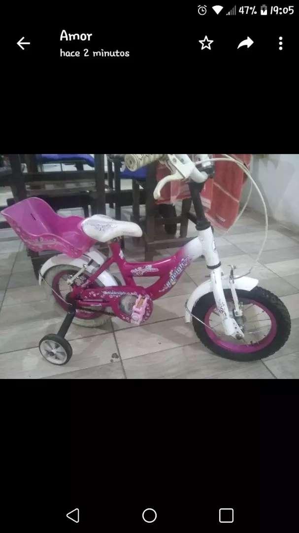 Bici para nena Rodado 12