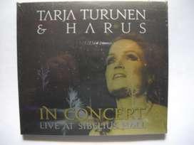tarja turunen harus in concert live sibelius hall cddvd sellado