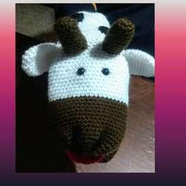 Títeres tejidos al crochet