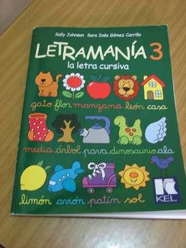 Vendo Libro Letramania 3
