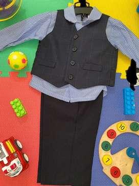 Traje elegante para niño 24 meses