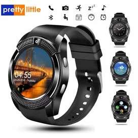 Hermoso smartwatch con SIM, cámara
