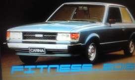 Toyota carina 81 1.6