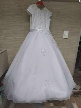 vestido primera comunión talla 12