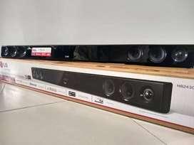 Barra de sonido marca LG 160 W de 2 canales