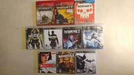 Juegos PS3 Originales en perfecto estado