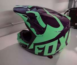 Casco Fox V1 Race Como Nuevo Impecable