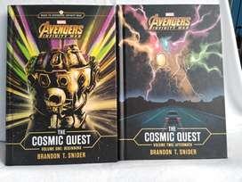 Avengers Infinity War The cosmic Quest vol 1 y 2 Vengadores Libros
