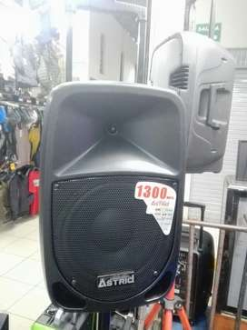Parlante Astrid 1300 Tipo Maleta Karaoke