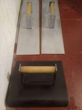 kit de acabados para concreto
