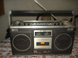 Radiograbador Sony Cf520 Japan Funciona C/detalles Leer