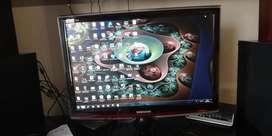 Monitor Samsung lcd 22 Pulgadas Plano