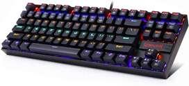 Teclado Mecánico Redragon Kumara K552 Rainbow - Outemu Red